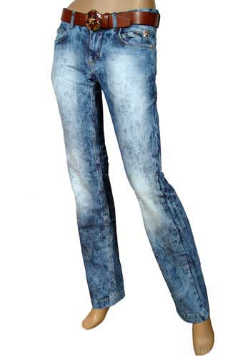 Womens Designer Clothes | GUCCI Lady's Jeans With Belt #7