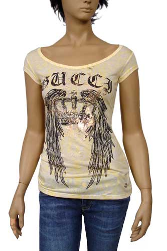 Womens Designer Clothes | GUCCI Ladies Short Sleeve Top #36