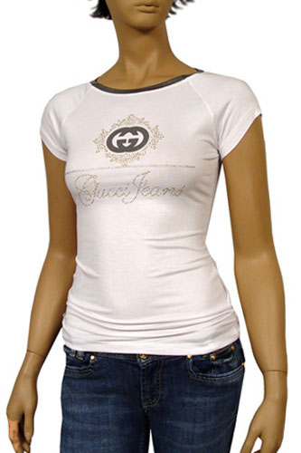 Womens Designer Clothes | GUCCI Ladies Short Sleeve Tee #37