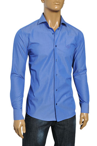 Mens Designer Clothes | PRADA Men's Dress Shirt #80