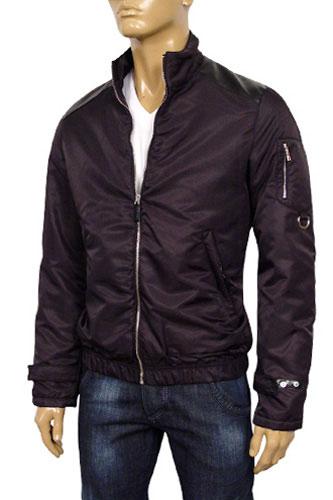 Mens Designer Clothes Prada Mens Zip Up Jacket 21