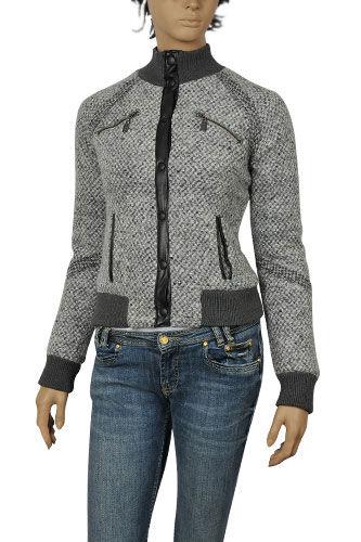Designer Clothes | PRADA Ladies Zip Up Jacket #30