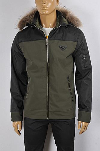 Mens Designer Clothes | PRADA Men's Windproof-Waterproof Jacket #39