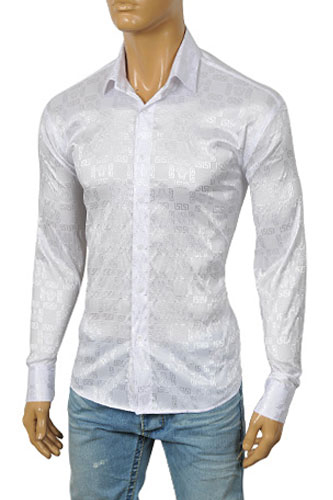 Mens Designer Clothes | VERSACE Men's Dress Shirt #149