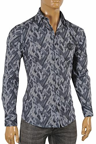 Mens Designer Clothes | VERSACE Men's Dress Shirt #171