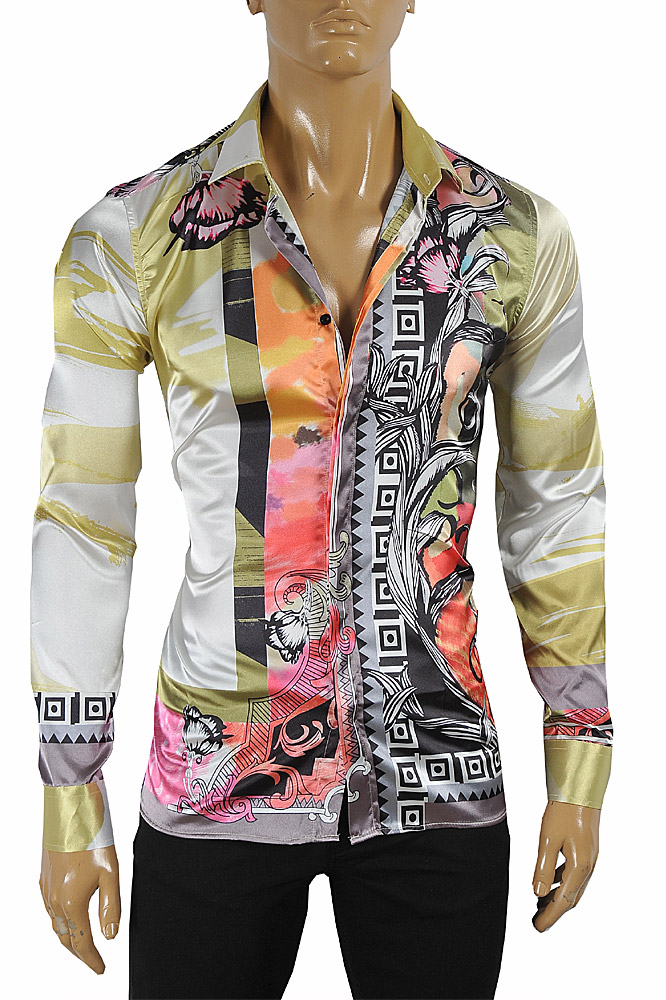 Mens Designer Clothes | VERSACE Men's Dress Shirt 179