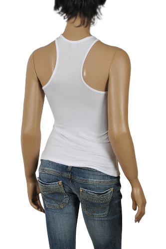 Womens Designer Clothes   VERSACE Sleeveless Ladies Top #62 View 2