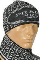 PRADA Men's Hat/Scarf Set #80