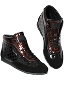 PRADA Men's High Leather Shoes #236