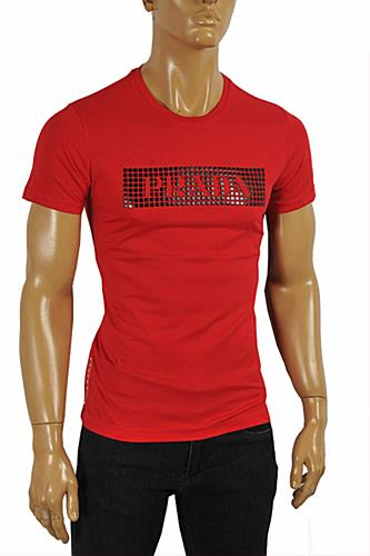 PRADA Men's cotton T-shirt with print #103