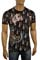 Mens Designer Clothes | CHRISTIAN AUDIGIER Multi Print Short Sleeve Tee #25 View 1