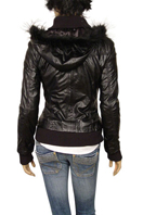 TodayFashion Ladies Artificial Leather/Fur Jacket #312