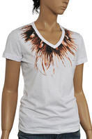 TodayFashion Ladies Short Sleeve Tee #63