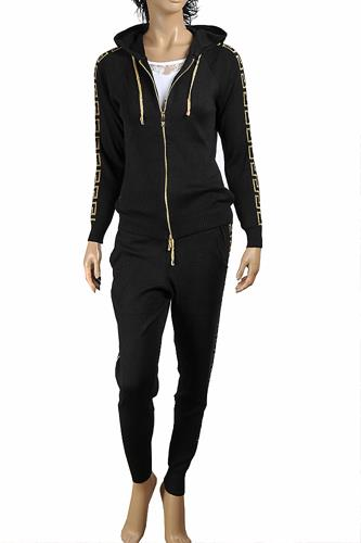 VERSACE women tracksuit, jogging set in black 25