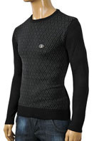 VERSACE Round Neck Men's Sweater #10