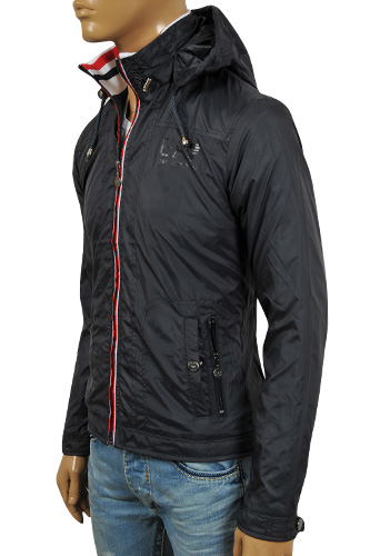 EMPORIO ARMANI Men's Windproof/Waterproof Zip Up Jacket #121