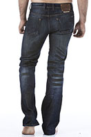 EMPORIO ARMANI Men's Washed Denim Jeans #102