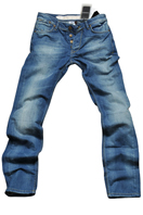 EMPORIO ARMANI Men's Classic Blue Denim Jeans #116