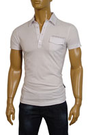 EMPORIO ARMANI Mens Cotton Polo Shirt #151