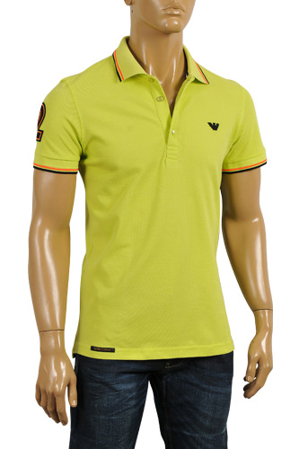 EMPORIO ARMANI Men's Polo Shirt #218