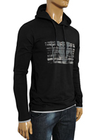 EMPORIO ARMANI Men's Hooded Shirt #209