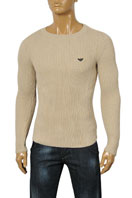 EMPORIO ARMANI Men's Fitted Sweater #128