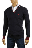 EMPORIO ARMANI Men's V-Neck Sweater #157