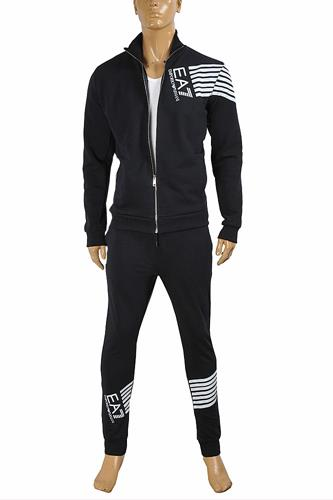 EMPORIO ARMANI Men's Zip Up Tracksuit 133