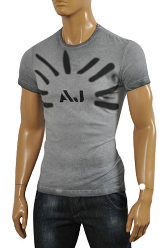 ARMANI JEANS Men's Cotton T-Shirt #100