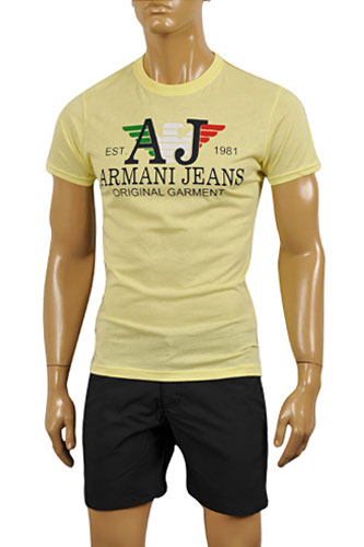 ARMANI JEANS Men's Cotton T-Shirt #106