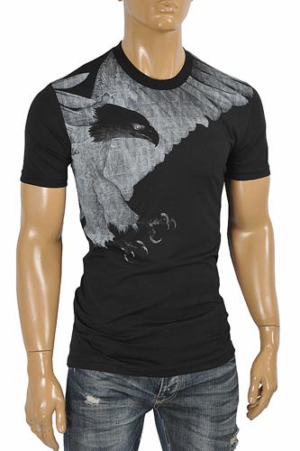 EMPORIO ARMANI Men's T-Shirt With Front Print 122