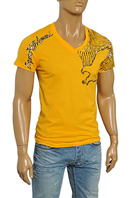 EMPORIO ARMANI Men's V-Neck Short Sleeve Tee #74