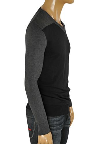 HUGO BOSS Men's V-Neck Knit Sweater #54
