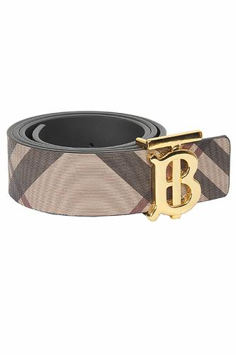 BURBERRY men's reversible leather belt 70