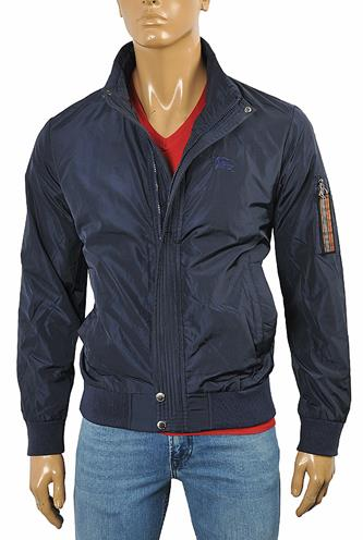 BURBERRY Men's Zip Up Jacket #50