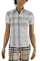 BURBERRY Ladies Short Sleeve Shirt #155