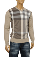 BURBERRY Men's V-Neck Sweater #113