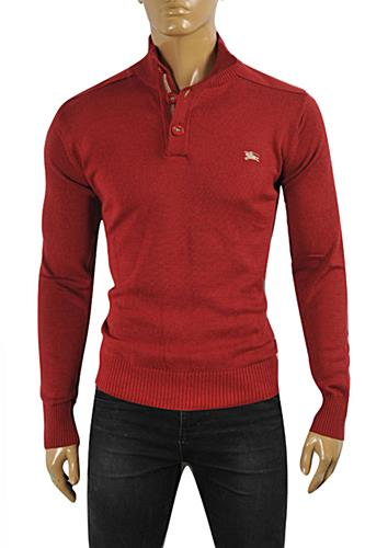 BURBERRY Men's Button Up Knitted Sweater #231