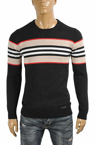 BURBERRY men's round neck sweater 268