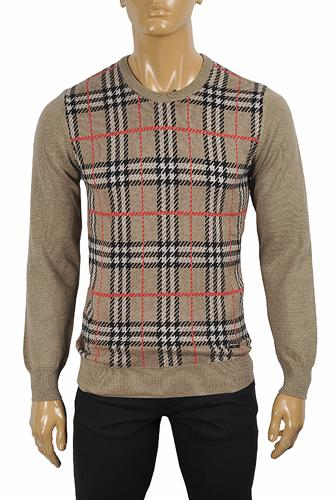 BURBERRY Men's Round Neck Knitted Sweater 280