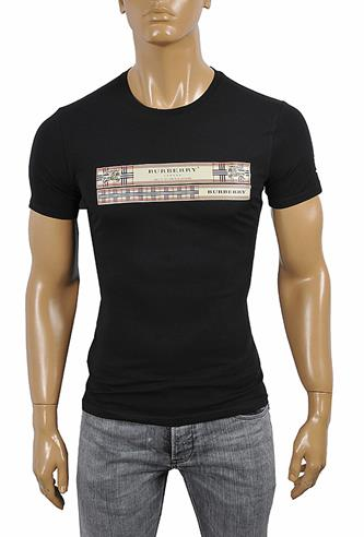 BURBERRY Men's Cotton T-Shirt 253