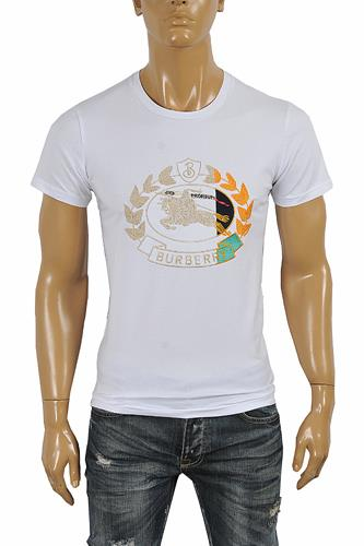 BURBERRY Men's Cotton T-Shirt 254
