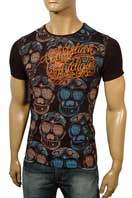 CHRISTIAN AUDIGIER Multi Print Short Sleeve Tee #61