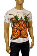 CHRISTIAN AUDIGIER Multi Print Short Sleeve Tee #84