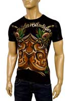 CHRISTIAN AUDIGIER Multi Print Short Sleeve Tee #85