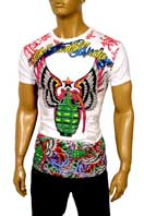 CHRISTIAN AUDIGIER Multi Print Short Sleeve Tee #88