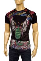 CHRISTIAN AUDIGIER Multi Print Short Sleeve Tee #89