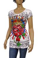 CHRISTIAN AUDIGIER Multi Print Short Sleeve Tunic #80