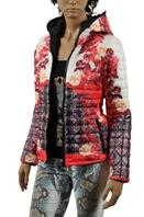 ROBERTO CAVALLI Warm, Hooded Ladies Jacket #75