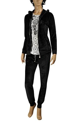 ROBERTO CAVALLI Ladies Tracksuit In Black #83
